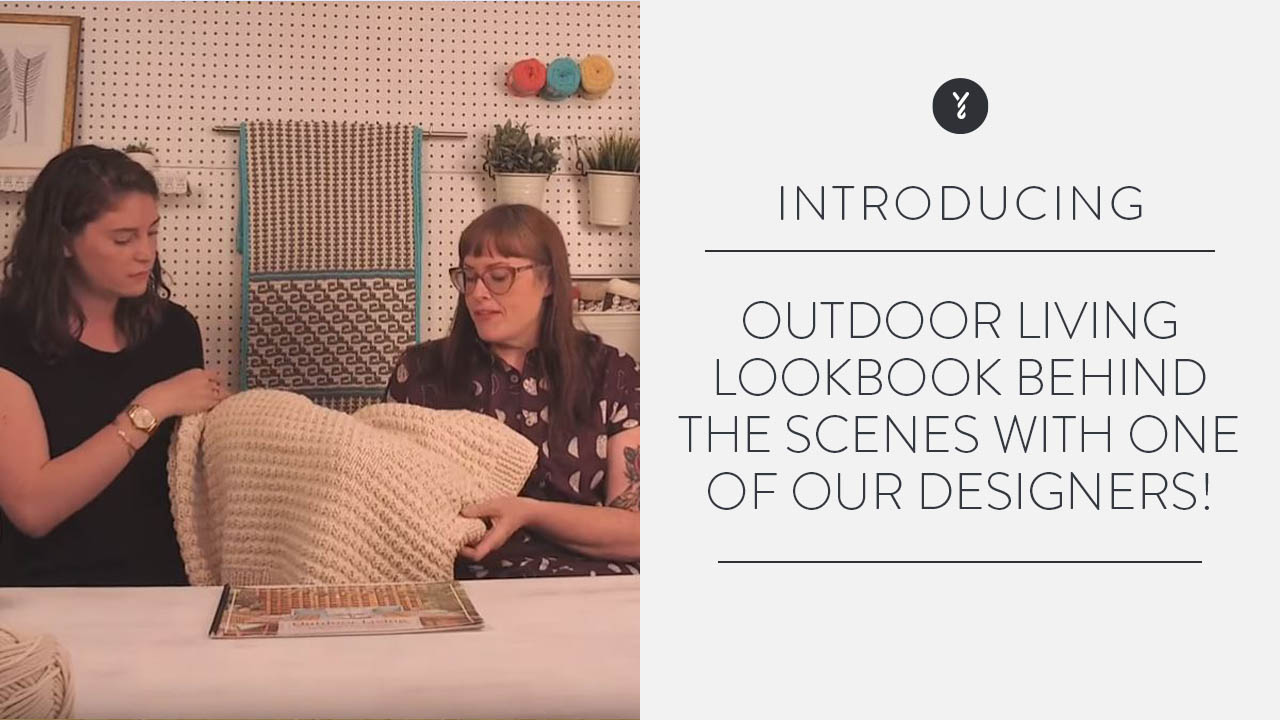 Outdoor Living Lookbook: Behind the Scenes with one of our designers!