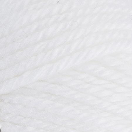 E856 Red Heart Soft Essentials yarn in 7001 White