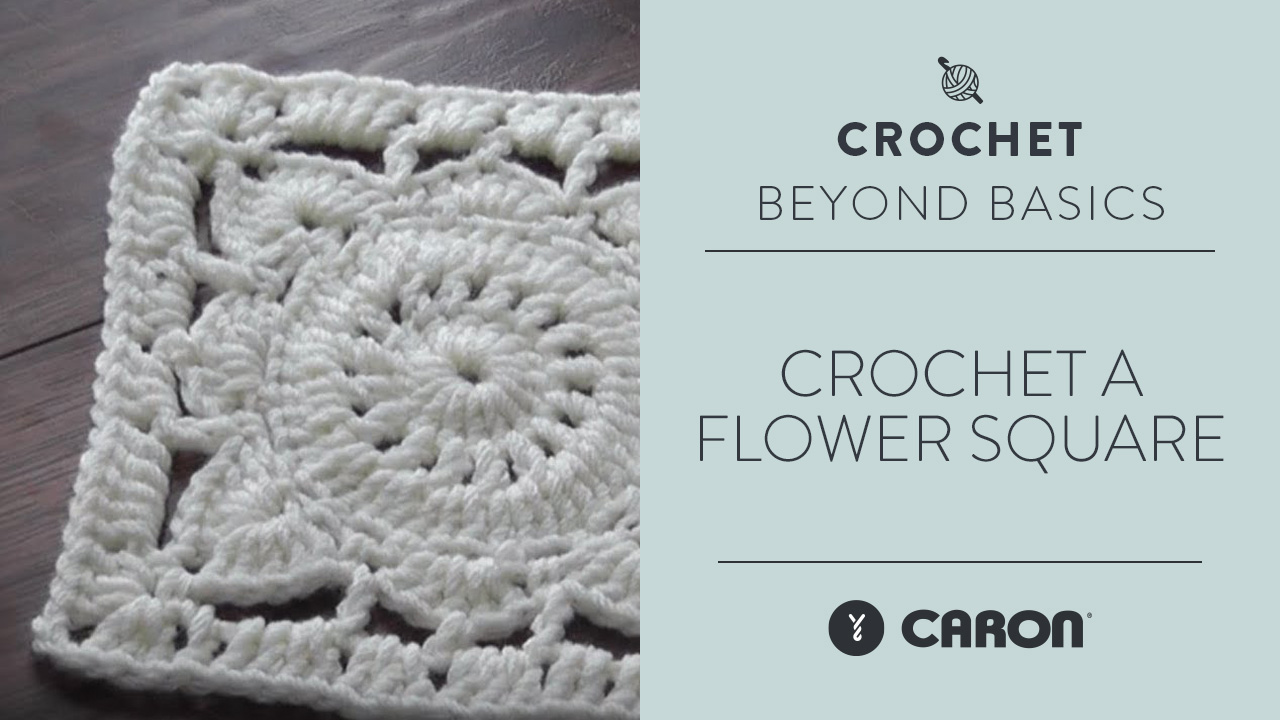 Crochet a Flower Square