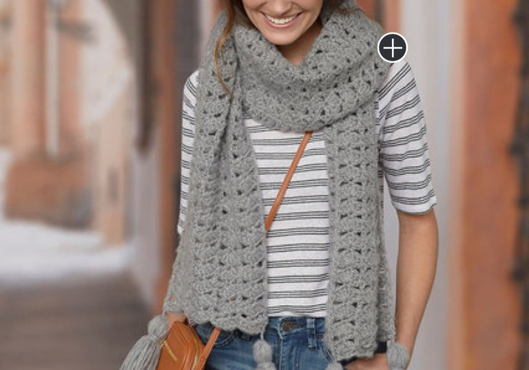 Easy Crochet Daydream Scarf