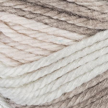 E857 Red Heart Soft Essentials Stripe yarn in 7930 Linen Stripe