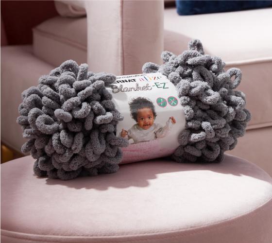 Bernat Alize EZ Seed Stitch Blanket 1