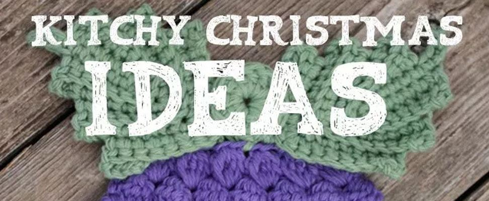 Kitchy Christmas Crochet Projects