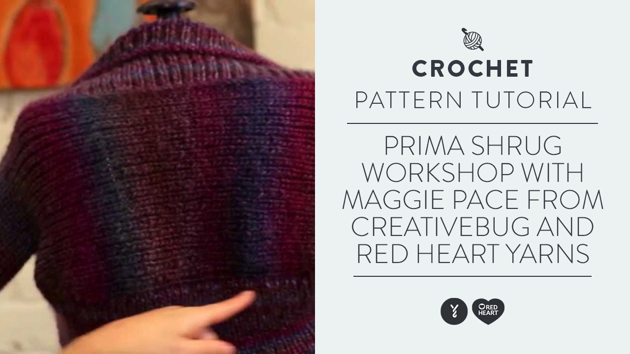 Prima Shrug Workshop with Maggie Pace from Creative Bug