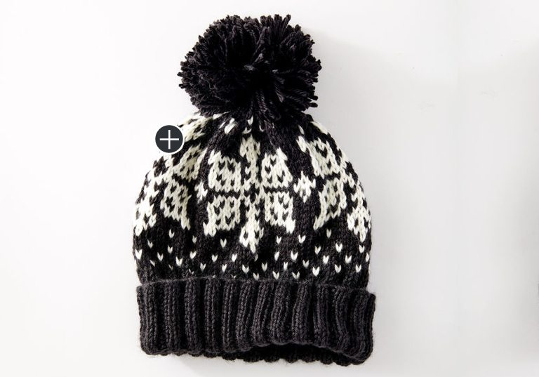Intermediate Nordic Flake Hat