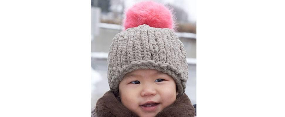 Big Stitch Baby Hat