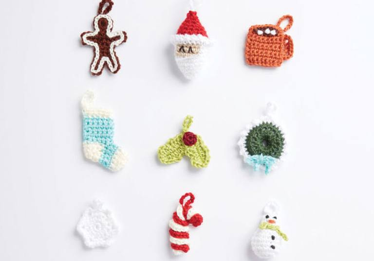 Intermediate Countdown To Christmas Crochet Advent Calendar