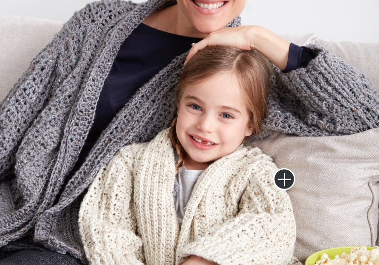 Easy Chill Time Crochet Cardigans