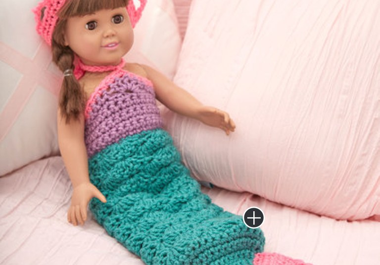 Easy Crochet Mermaid Doll Outfit