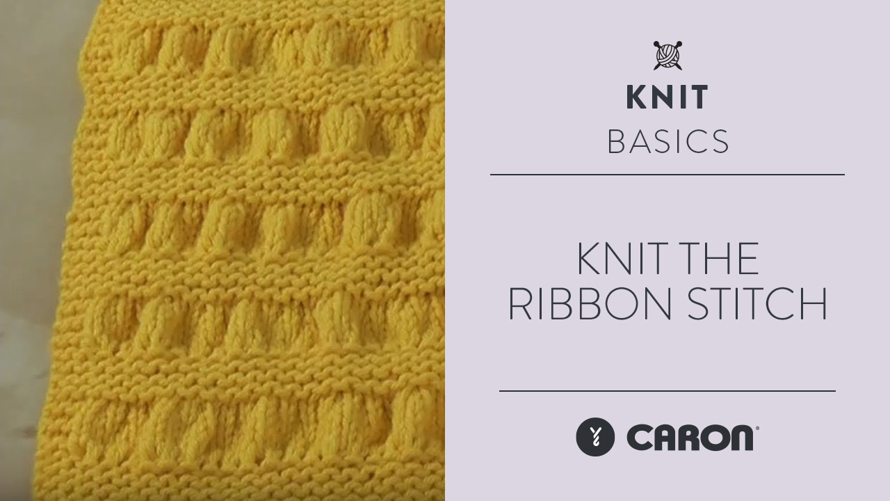 Knit the Ribbon Stitch