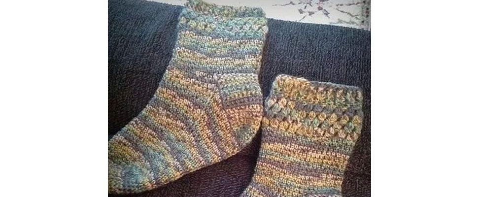 Socks in Patons Kroy Socks yarn