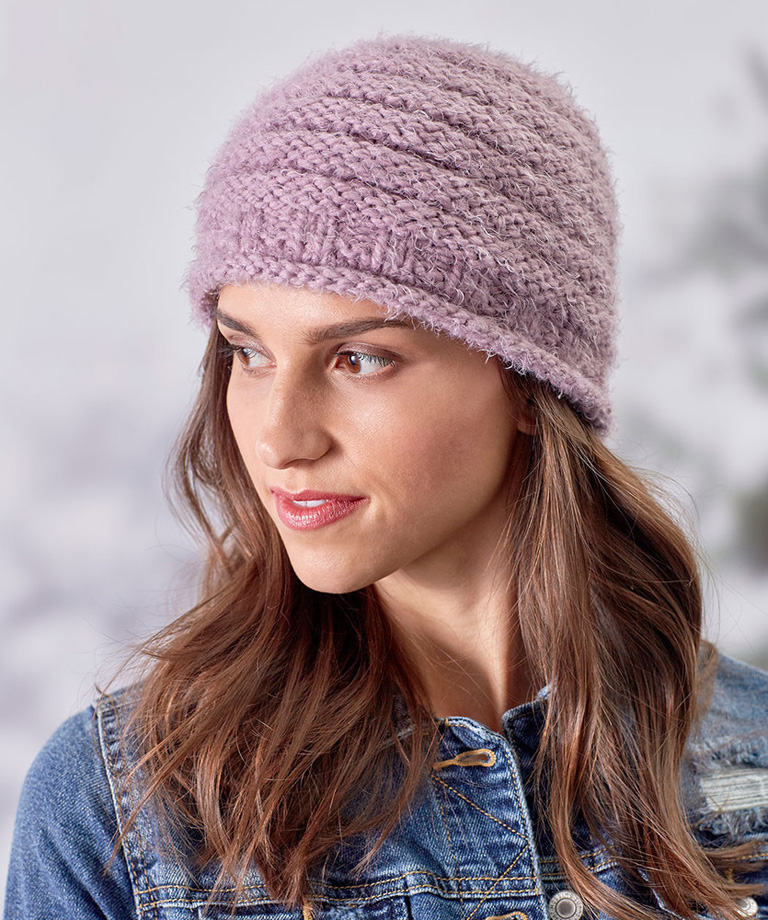Cozy Style Knit Hat Free Pattern LM5689