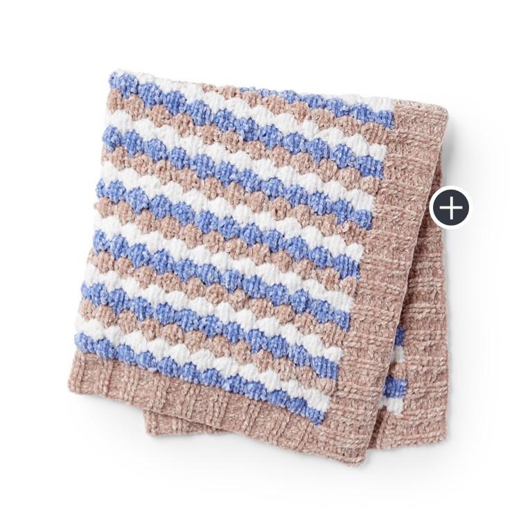Baby Bobbles Knit Blanket
