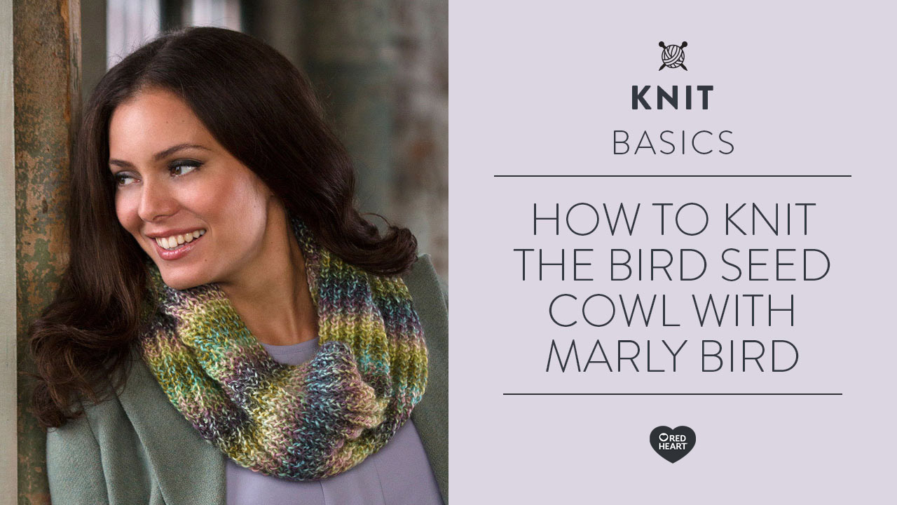 How to Knit the Bird Seed Cowl with Marly Bird