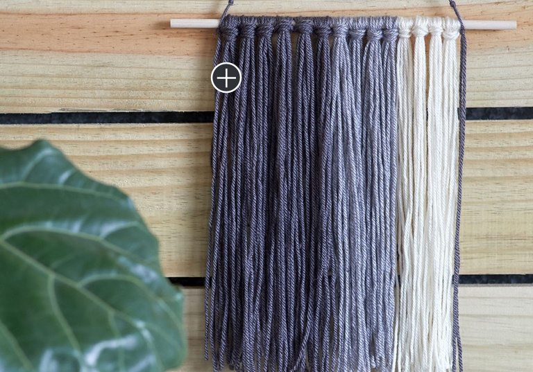 Beginner Amazing Grays Craft Wall Hanging