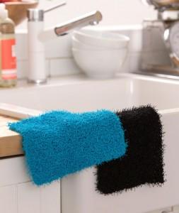 LW4789 Simple Knit Dishcloth