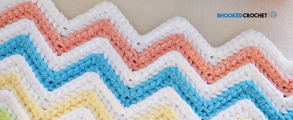 Custom Simple Chevron Baby Blanket | Blog
