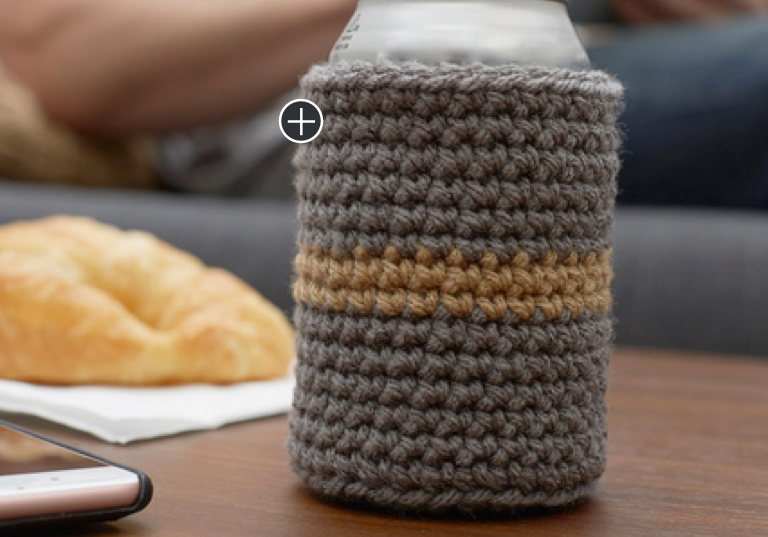 Easy Crochet Chill-Time Can Cozy
