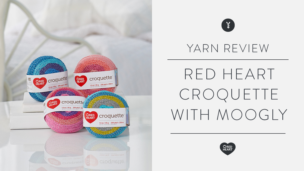 Red Heart Croquette Review