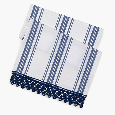 Aunt lydia's lace edged towel
