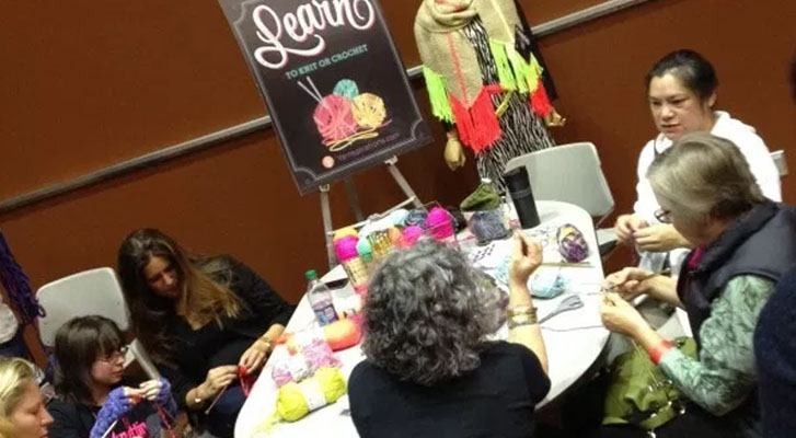 Vogue Knitting Live Seattle '14