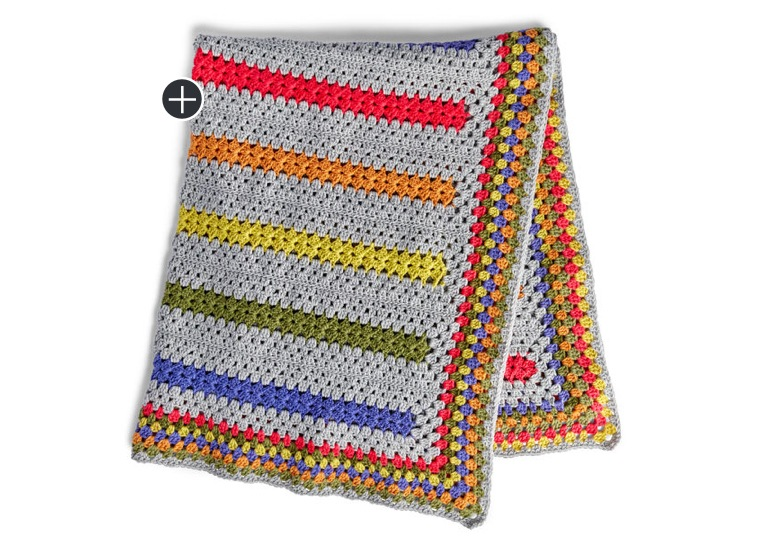 Pop-A-Minute Crochet Blanket