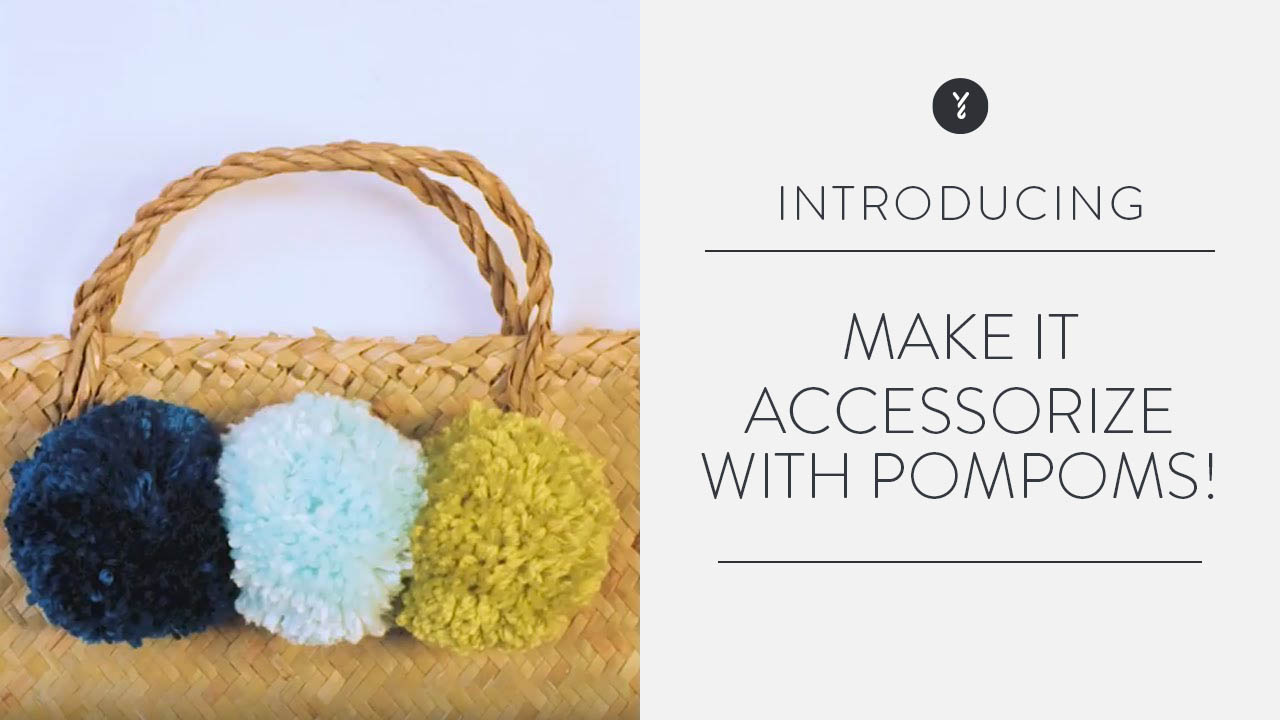 Make It: Accessorize with Pompoms!