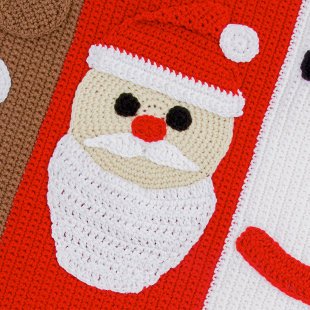 Christmas Characters Crochet Along with Sarah