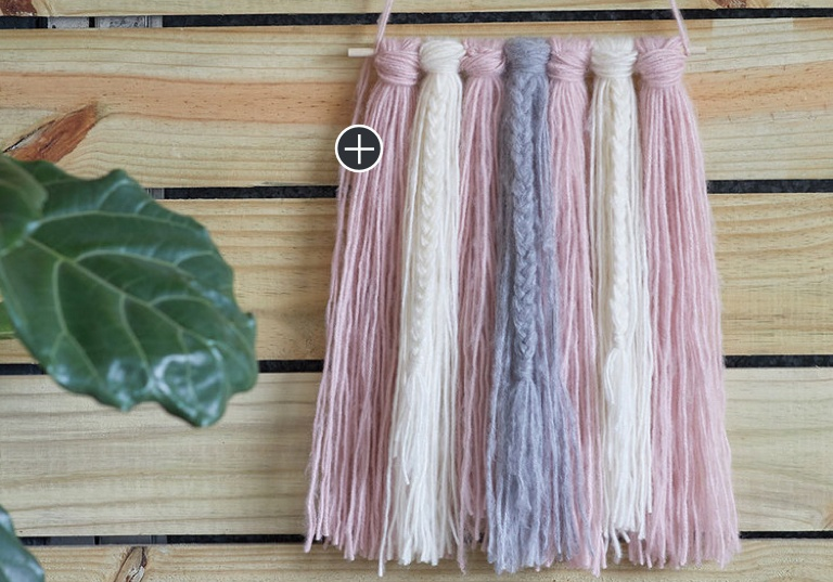 Beginner Braided Harmony Craft Wall Hanging