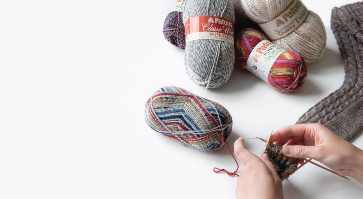Learn to Knit Slouchy Socks