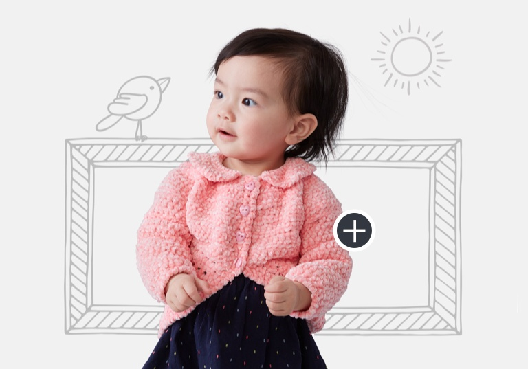 Easy Crochet Baby Party Cardi
