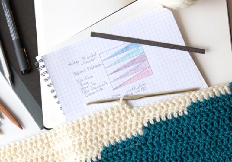 Intermediate Wedge It Crochet Blanket