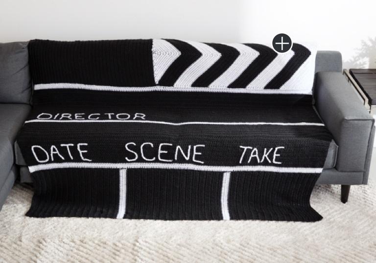 Easy Crochet Clapboard Blanket