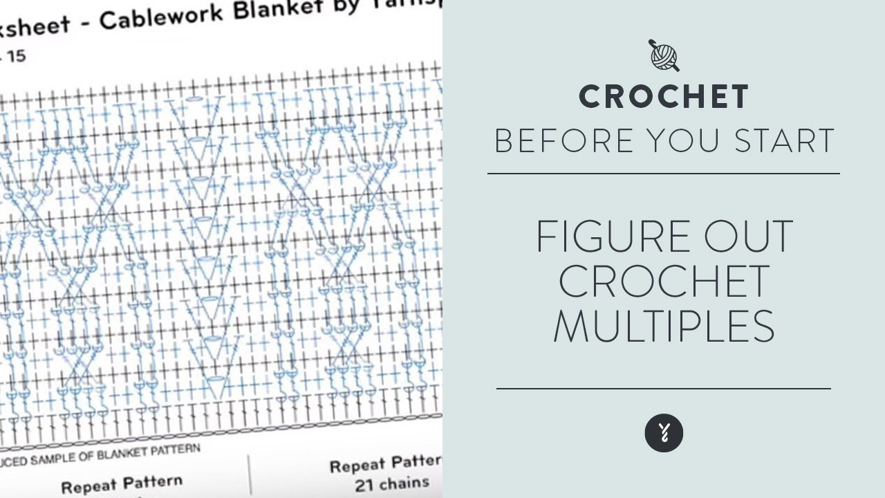 Figure out Crochet Multiples