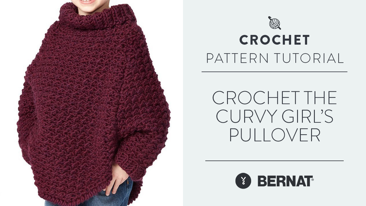 Crochet the Curvy Girl's Pullover
