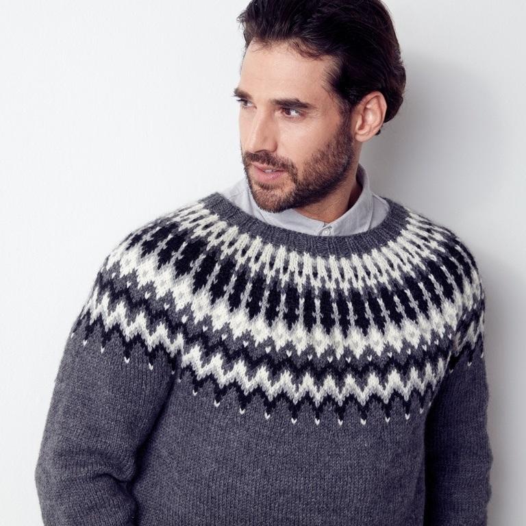 Intermediate His & Hers Knit Yoke Sweaters