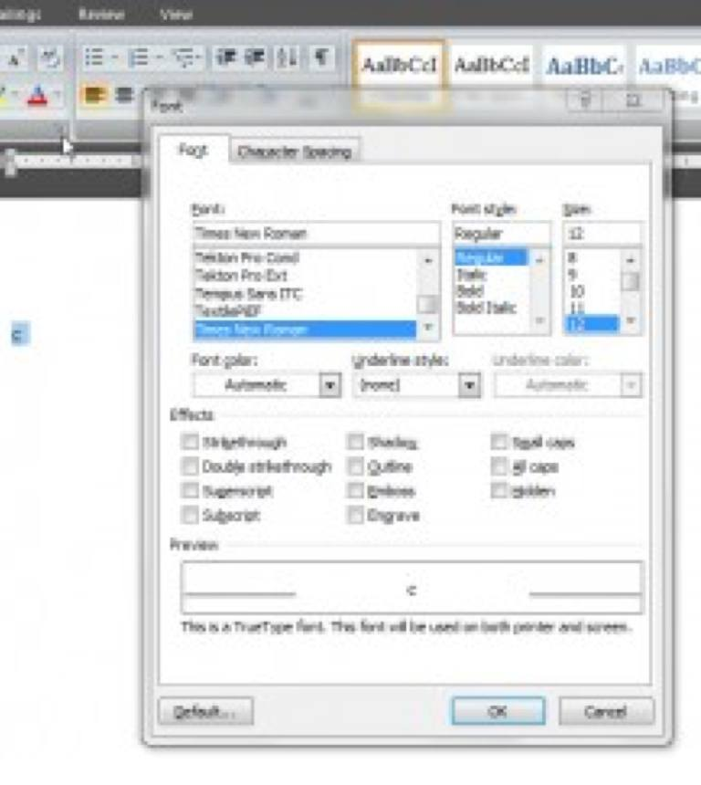 Making Applique Patterns with Your Word Processor