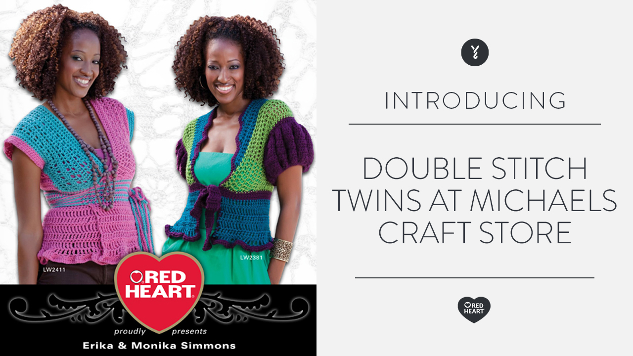 Double Stitch Twins Talk Crochet on The Balancing Act
