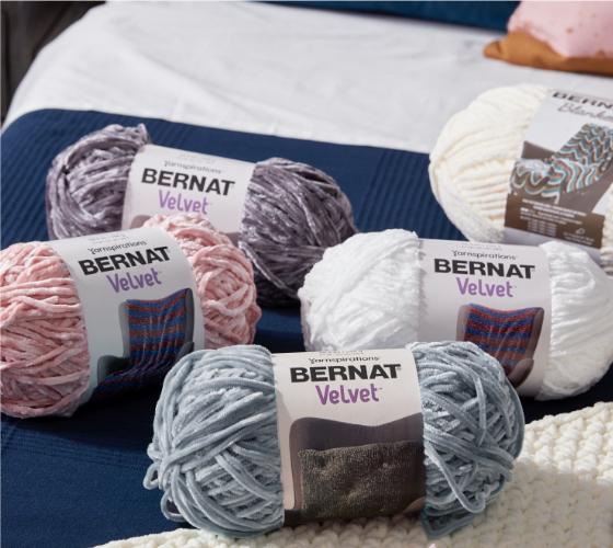 Bernat Loopy Dots Crochet Blanket 2