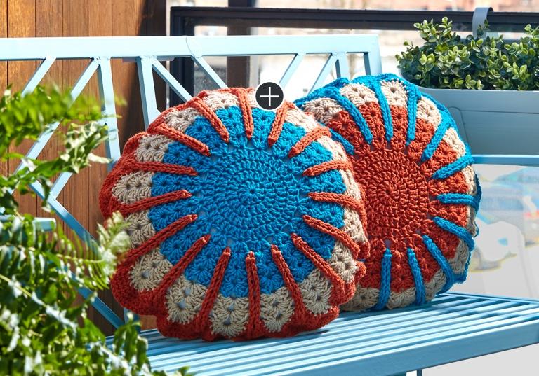 Intermediate Full Circle Crochet Pillow