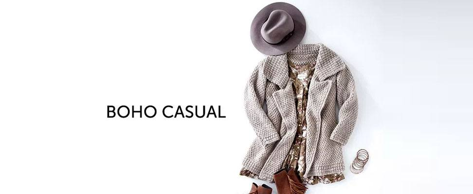 Patons Lapel Cardigan in Patons Classic Wool Roving yarn Boho Casual