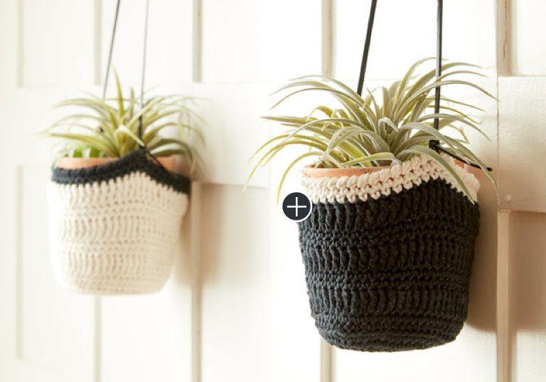 Easy Crochet Hanging Pot Cozy
