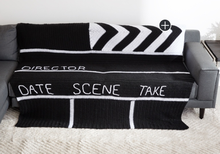 Easy Crochet Clapboard Blanket