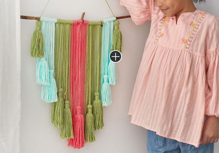 Beginner Tassel Wall Hanging