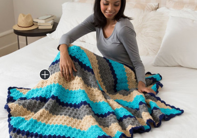 Intermediate Corner-to-Corner Crochet Throw