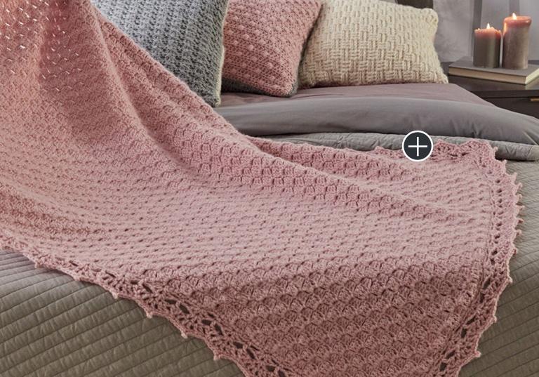 Easy Corner-To-Corner Crochet Guest Throw