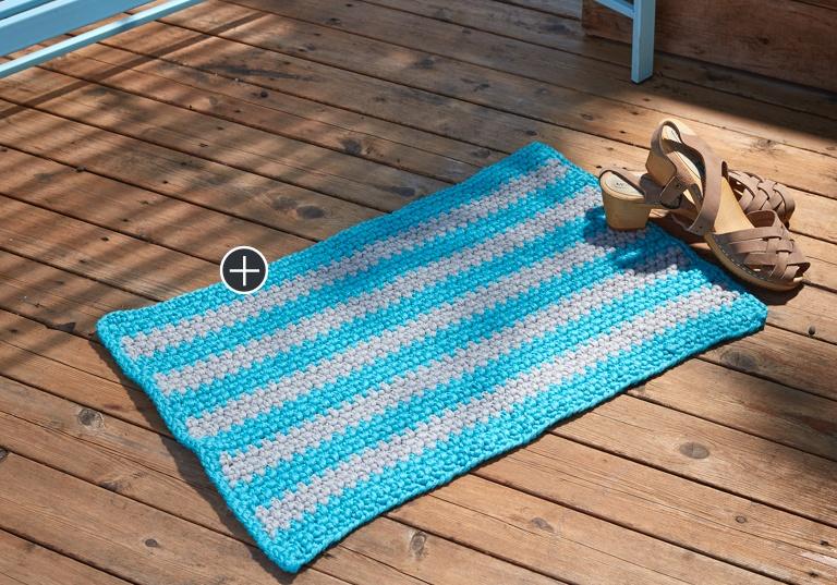 Easy Crochet Outdoor Mat