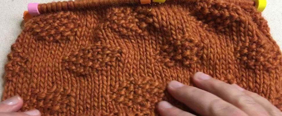 Polka Dot Knit Hat