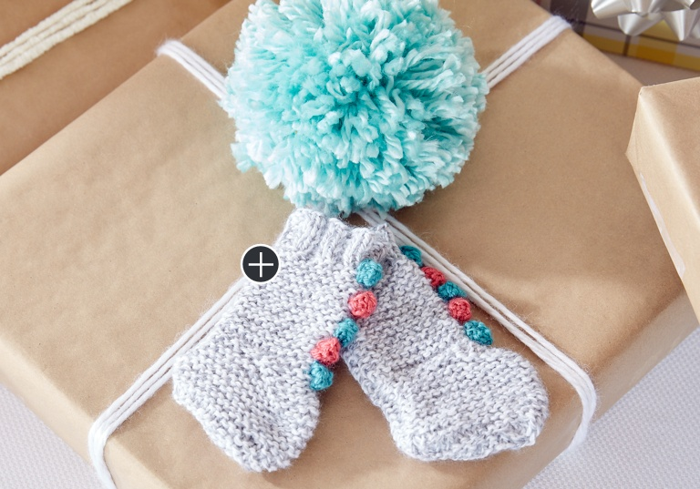 Easy Knit Baby Circus Socks