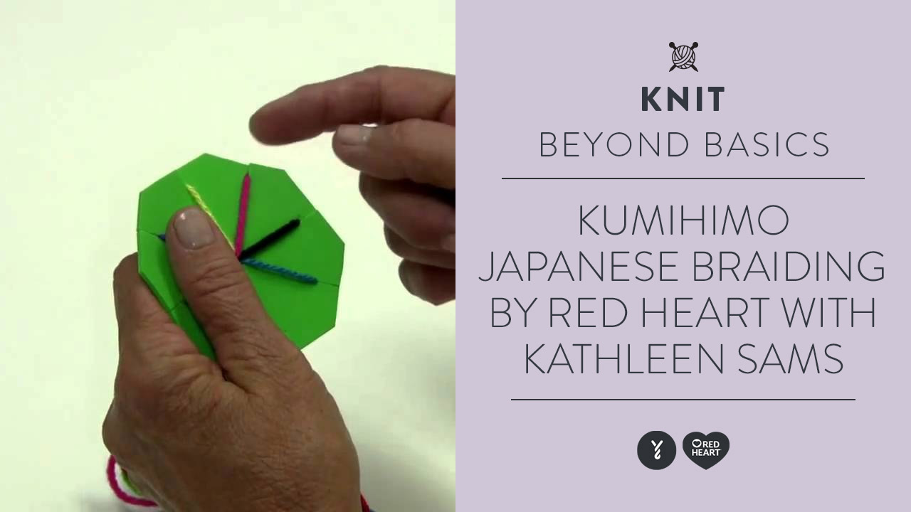 Learn Kumihimo-Japanese Braiding